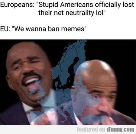 Europeans - Stupid Americans officially lost...