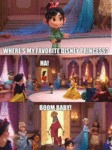 Where's My Favorite Disney Princess - Ha! - Boom..