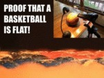 Proof That Basketball Is Flat!