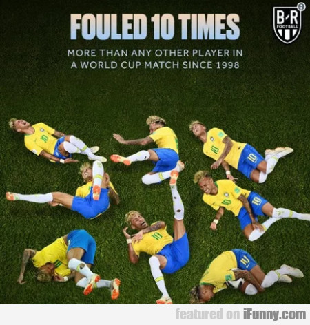 Fouled 10 Times - More Than Any Other Player In...