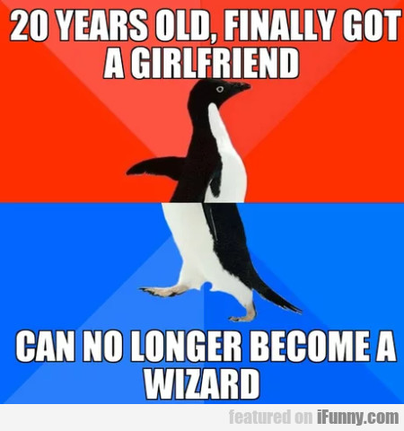 20 years old, finally got a girlfriend - can no...