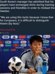 South Korea's Manager Has Admitted That His...