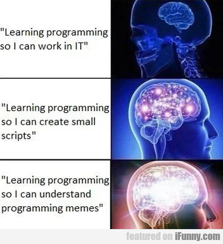 Learning Programming So I Can Work In It...