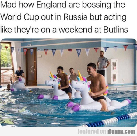Mad How England Are Bossing The World Cup Out...
