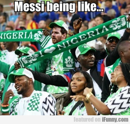 Messi Being Like