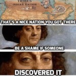 That's A Nice Nation You Got There - Be A Shame...