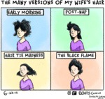 The Many Versions Of My Wife's Hair