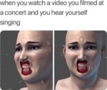 When You Watch A Video You Filmed At A Concert...