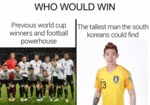 Who Would Win - Previous World Cup Winners...