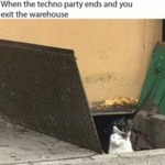 When The Techno Party Ends And You Exit...