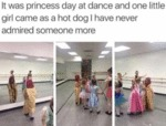 It Was A Princess Day At Dance And One Little...