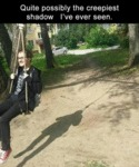 Quite Possibly The Creepiest Shadow I've Ever...