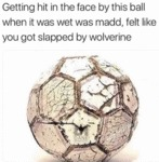 Getting Hit In The Face By This Ball When It...