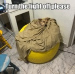 Turn The Light Off Please