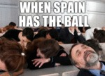 When Spain Has The Ball