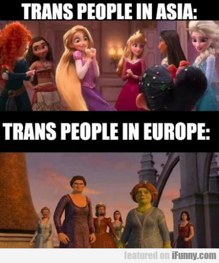 Trans People In Asia - Trans People In Europe