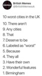 10 Worst Cities In The Uk - 10. There Aren't...