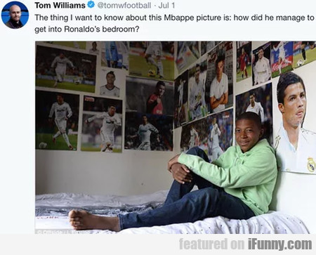 The Thing I Want To Know About This Mbappe...