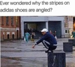 Ever Wondered Why The Stripes On Adidas Shoes...