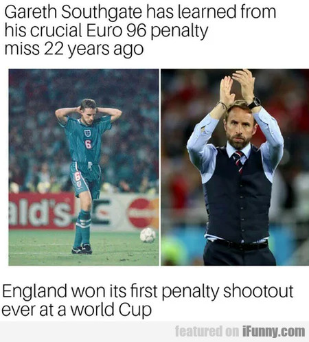Gareth Southgate Has Learned From His Crucial...