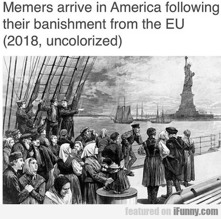 Memers Arrive In America Following Their...
