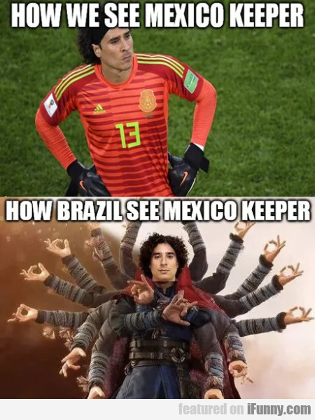 How We See Mexico Keeper - How Brazil See...
