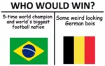 Who Would Win - 5-time World Champion And...