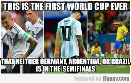 This Is The First World Cup Ever That Neither...