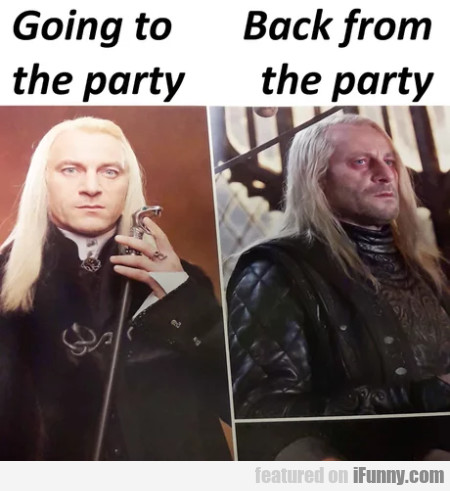 Going To The Party - Back From The Party