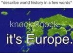 Describe World History In A Few Words - Knock...