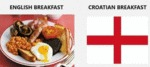 English Breakfast - Croatian Breakfast