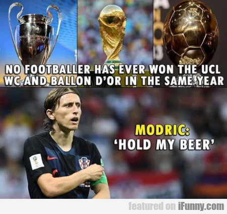 No Footballer Has Ever Won The Ucl, Wc And...