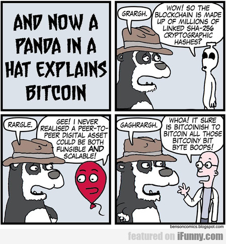 and now a panda in a hat eplains bitcoin