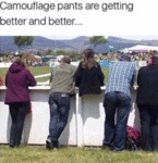 Camouflage Pants Are Getting Better And Better