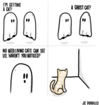 I'm Getting A Cat! A Ghost Cat?