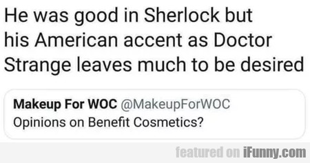 He Was Good In Sherlock But His American...
