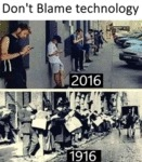 Don't Blame Technology