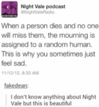 When A Person Dies And No One Will Miss Then...