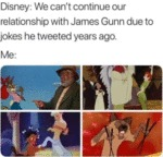 Disney - We Can't Continue Our Relationship With..