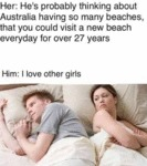 Her - He's Probably Thinking About Australia...