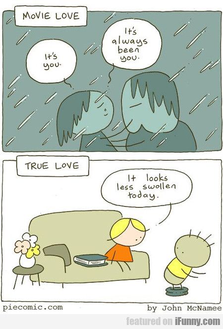 Movie Love. It's You. It's Always Been You.