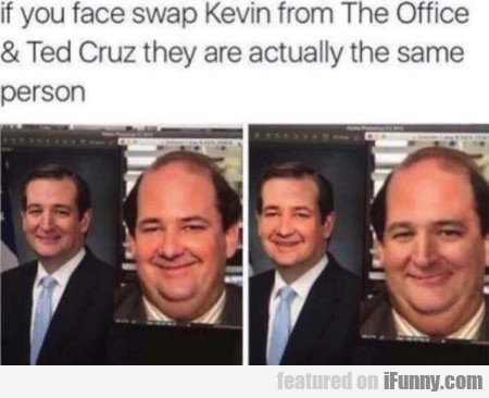If You Face Swap Kevin From The Office & Ted...