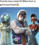 Fortnite Have Made $1 Billion From Game Purchases