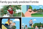 Family Guy Really Predicted Fortnite...