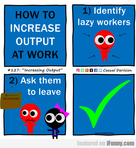 How To Increase Output At Work