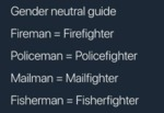 Gender Neutral Guide - Fireman - Firefighter...