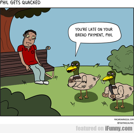 Phil Gets Quacked