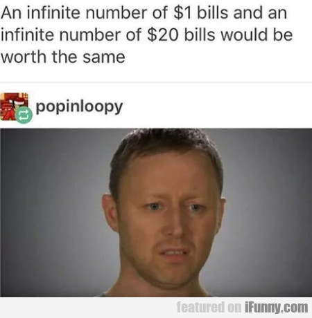 An Infinite Number Of $1 Bulls And An Infinite...