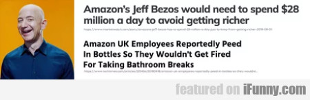 Amazon's Jeff Bezos would need to spend...