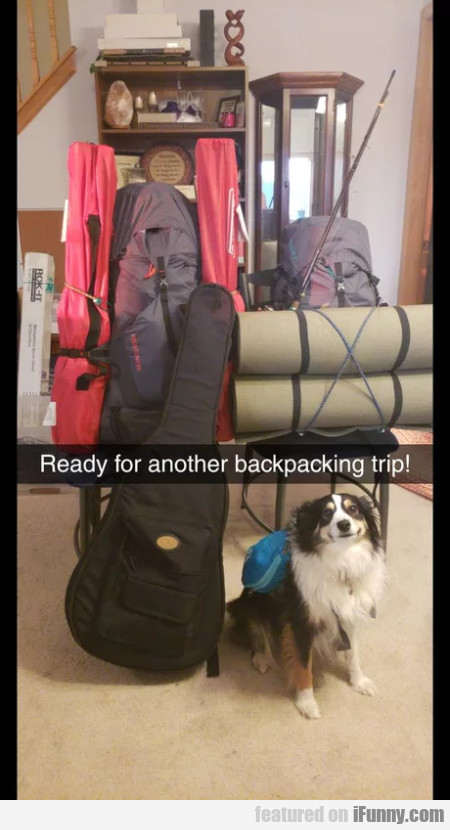 Ready For Another Backpacking Tri